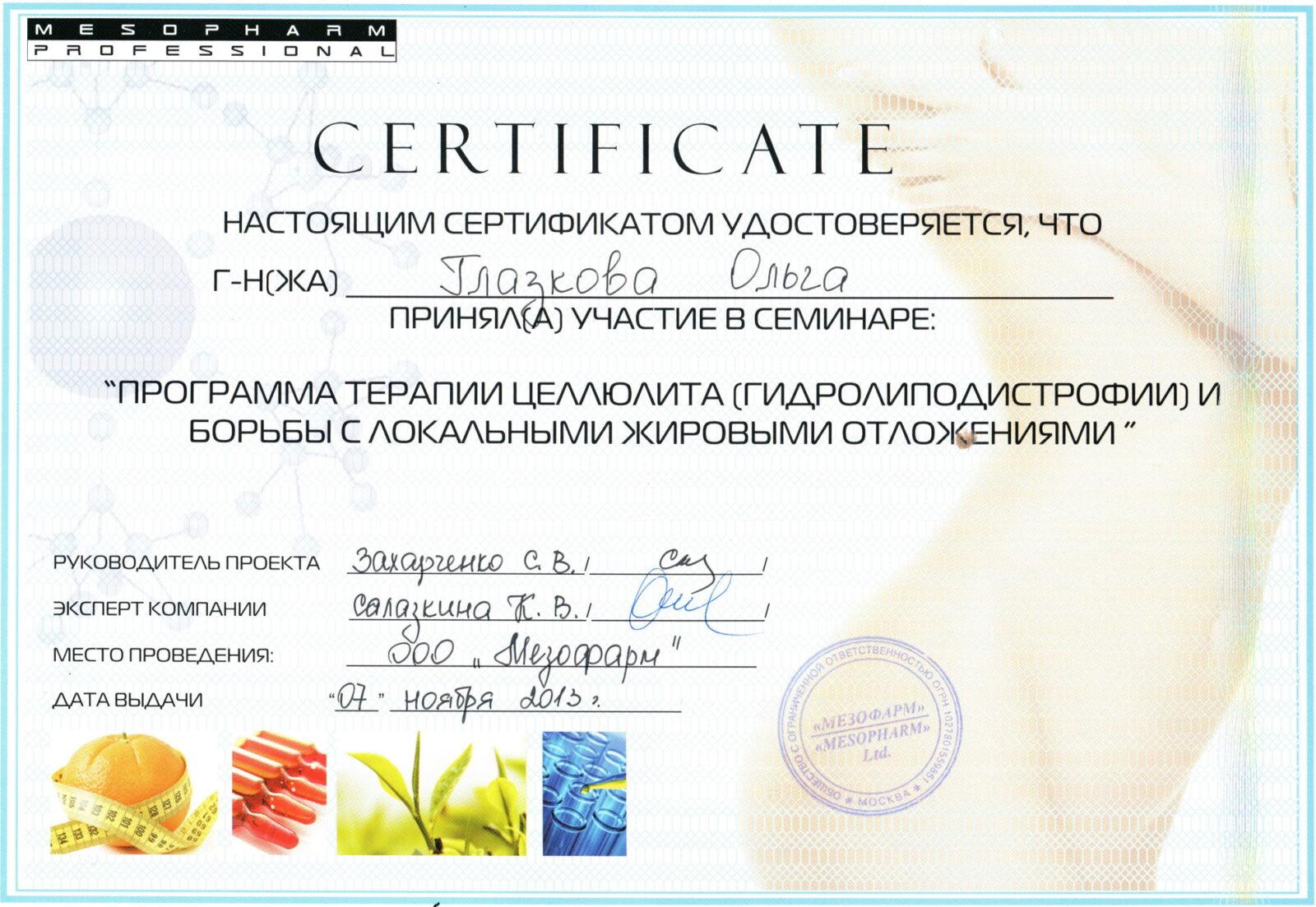 2013.11.07 Сертификат