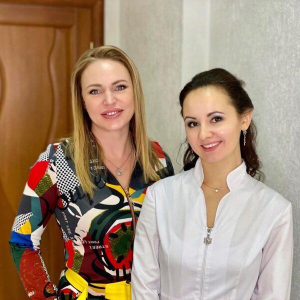 Алла Довлатова и Ольга Евдокимова