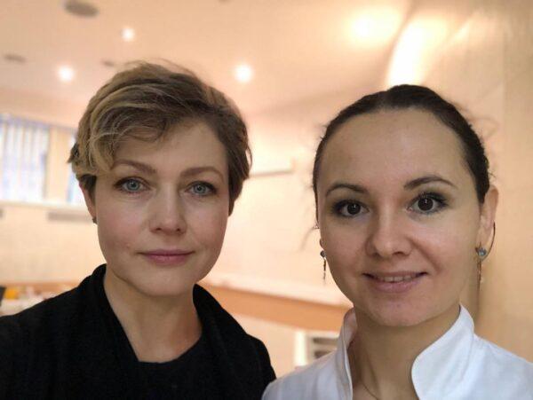 Эльвира Болгова и Ольга Евдокимова